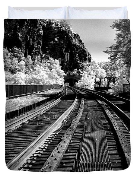 Harpers Ferry Main Line Duvet Cover