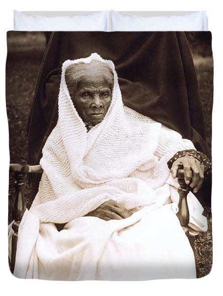 Harriet Tubman Portrait 1911  Duvet Cover by Unknown