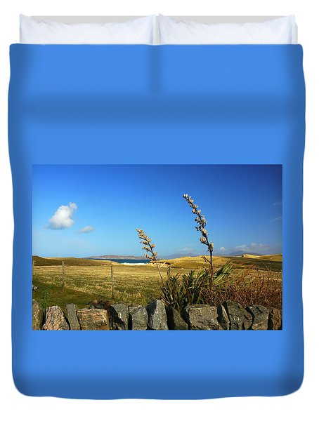 Harris Outer Hebrides Duvet Cover by The Creative Minds Art and Photography