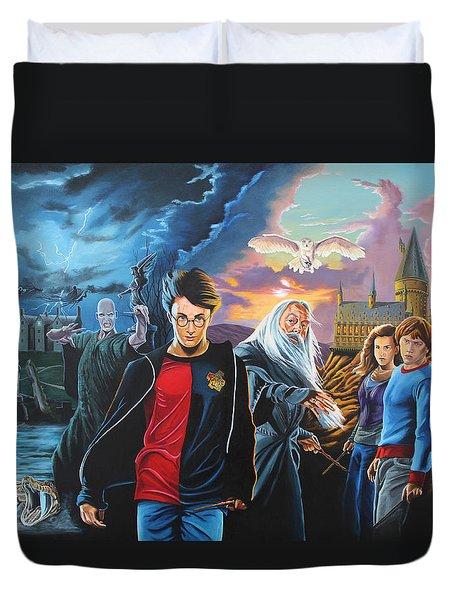 Harry Potter's World Duvet Cover