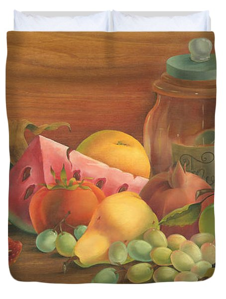 Harvest Fruit Duvet Cover