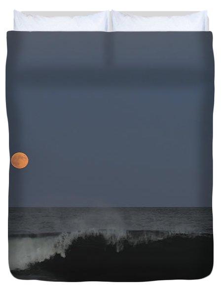Harvest Moon Seaside Park Nj Duvet Cover