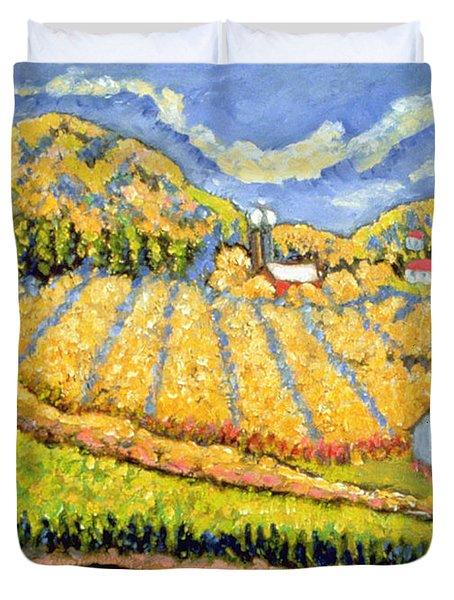 Harvest St Germain Quebec Duvet Cover by Patricia Eyre