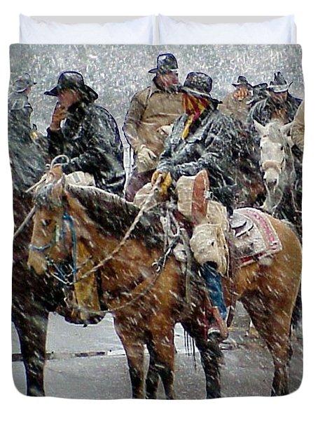 Hashknife Pony Express Duvet Cover