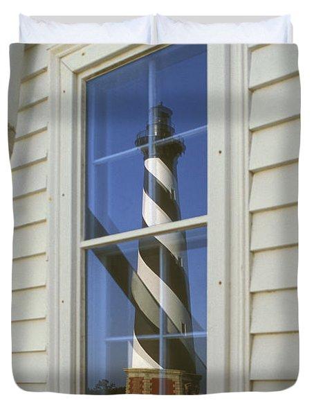 Hatteras Lighthouse  S P Duvet Cover