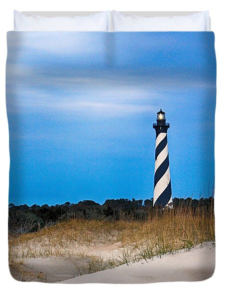 Hatteras Morning Light Duvet Cover by Tony Cooper