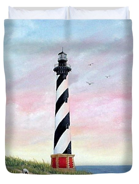 Hatteras Sunrise Duvet Cover