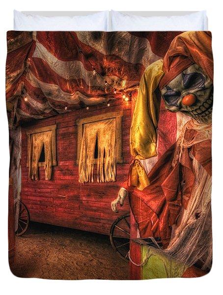 Haunted Circus Duvet Cover