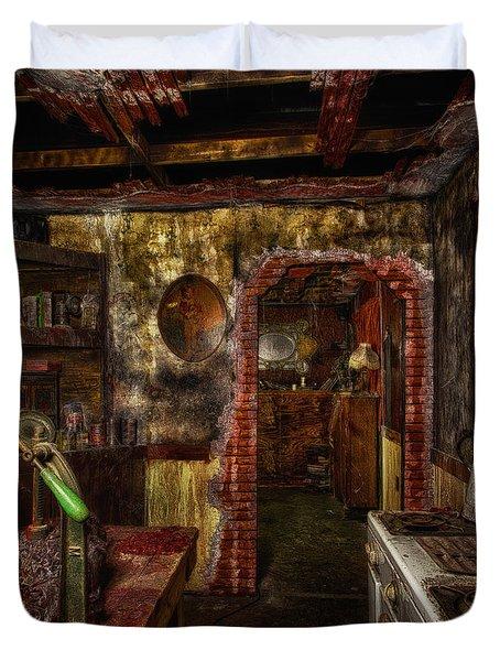 Haunted Kitchen Duvet Cover