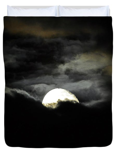 Haunting Horizon 02 Duvet Cover by Al Powell Photography USA