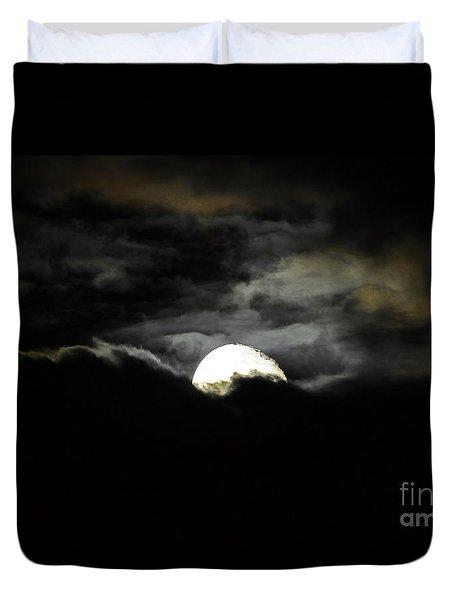 Haunting Horizon Duvet Cover