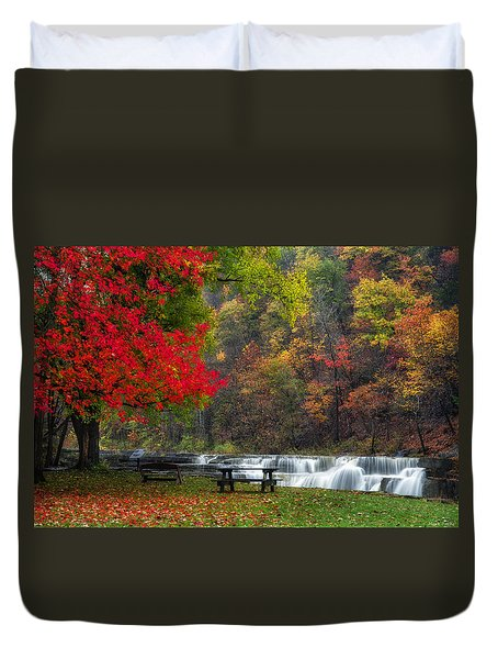 Have A Seat Duvet Cover