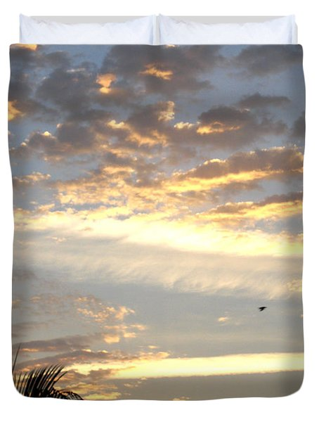Have A Wonderful Day Duvet Cover