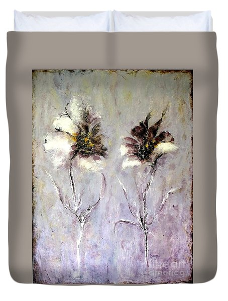 Have You Heard.....? Duvet Cover by Madeleine Holzberg