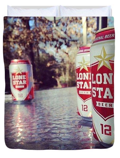 Lonestar Y'all Duvet Cover