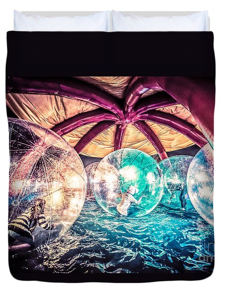 Having A Ball Duvet Cover