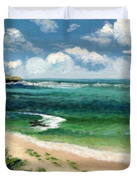 Hawaii Beach Duvet Cover