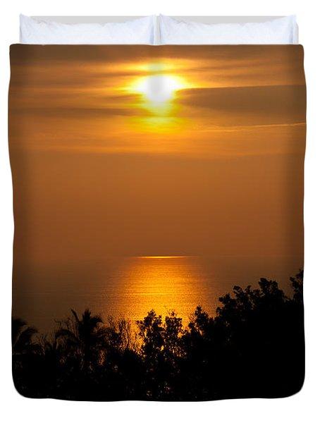 Hawaiian Dream Duvet Cover by Sabine Edrissi