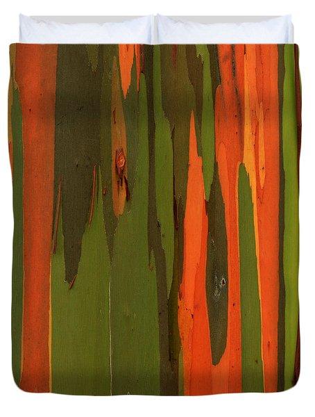 Hawaiian Eucalyptus Duvet Cover by James Eddy