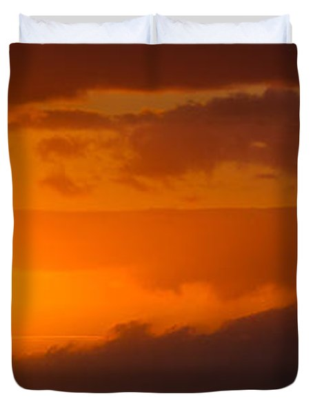 Hawaiian Sunset Duvet Cover