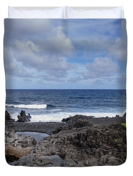 Hawaiian Surf Duvet Cover