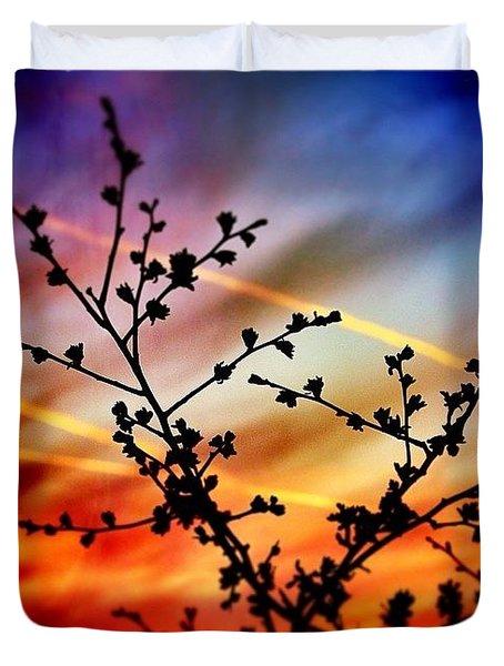 Hawthorn Sunset Duvet Cover