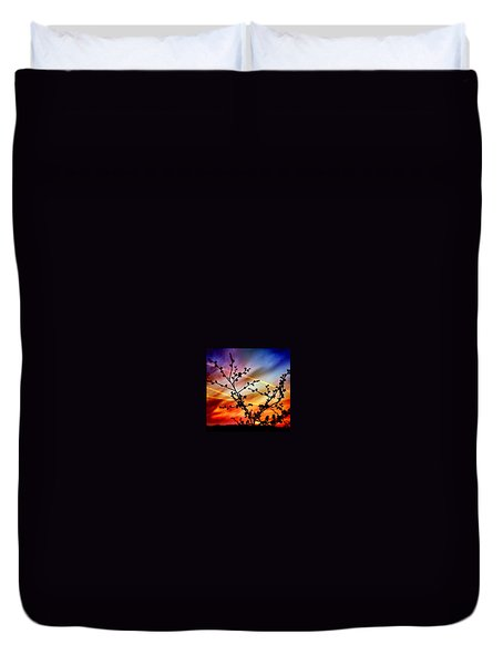 Hawthorn Sunset Duvet Cover