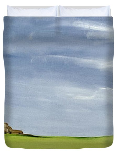 Haybarn Dreaming Duvet Cover by Ana Bianchi