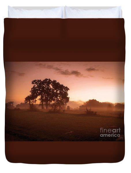 Hazy Morn Duvet Cover