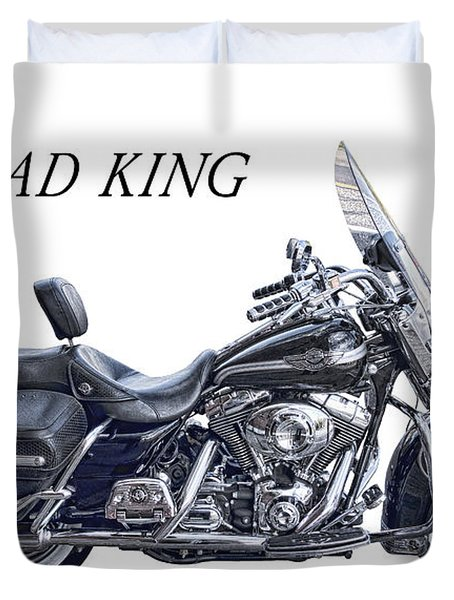 H D Road King Duvet Cover