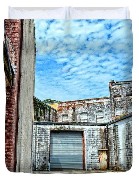 Hdr Alley Duvet Cover