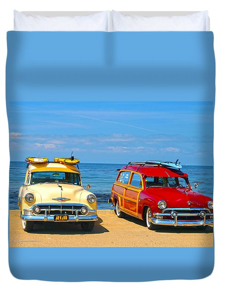 Cousins At Royal Palms  Duvet Cover