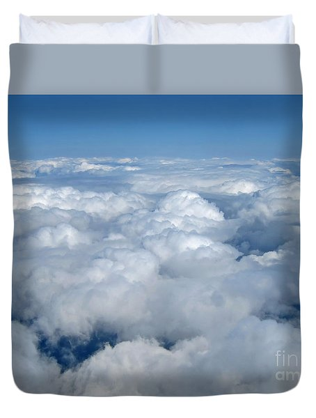 Head In The Clouds Art Prints Duvet Cover