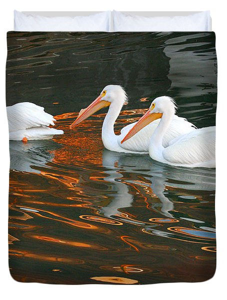 Heading Home Duvet Cover