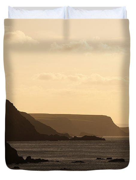 Headland Duvet Cover by Anne Gilbert