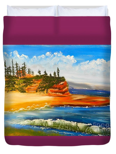 Headlands Duvet Cover