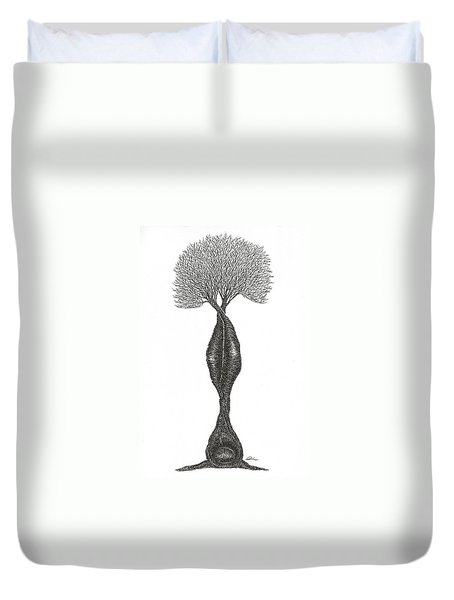 Headstand Duvet Cover