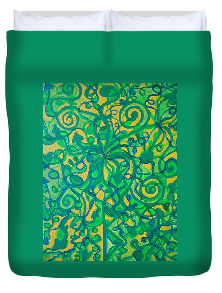 Healing And Nutrition Duvet Cover
