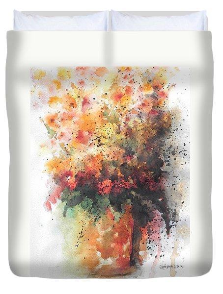 Healing Duvet Cover by Chrisann Ellis