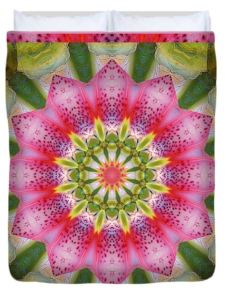 Healing Mandala 25 Duvet Cover by Bell And Todd