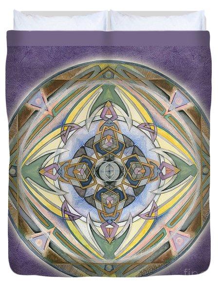 Healing Mandala Duvet Cover