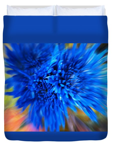 Duvet Cover featuring the photograph Healing Of A Flower by Sherri  Of Palm Springs