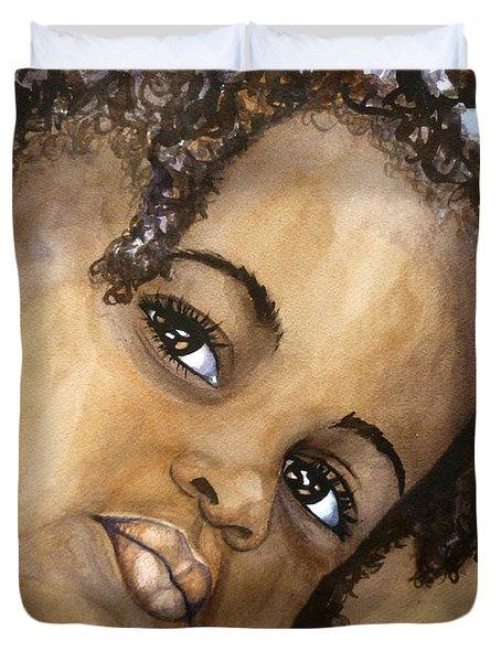 Nigerian Eyes Duvet Cover