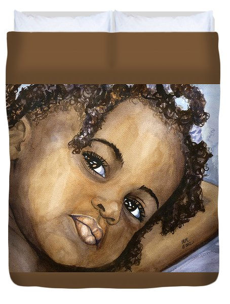 Nigerian Eyes Duvet Cover
