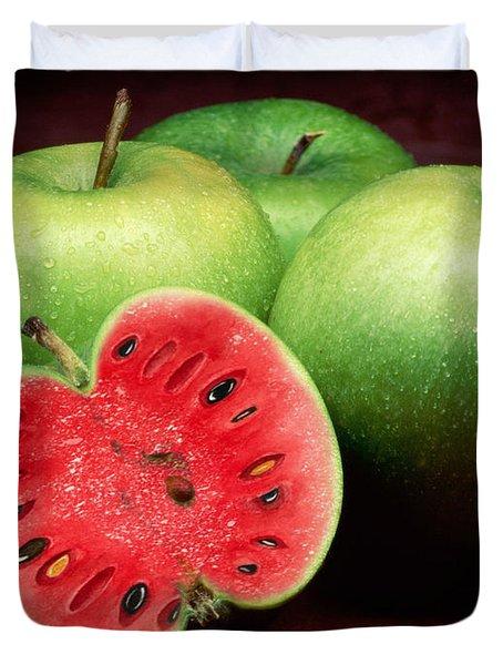 Healthy Trick Duvet Cover
