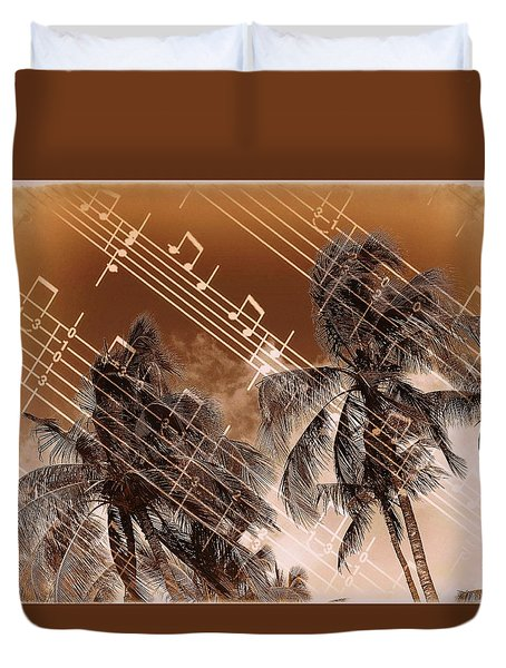 Hear The Music Duvet Cover