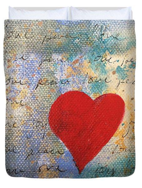 Heart #9 Duvet Cover