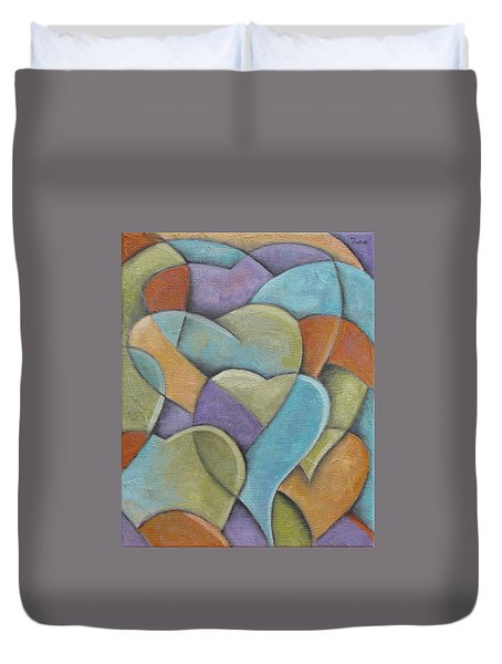 Heart Beats Duvet Cover