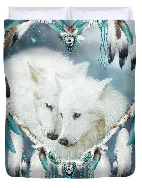 Heart Of A Wolf Duvet Cover