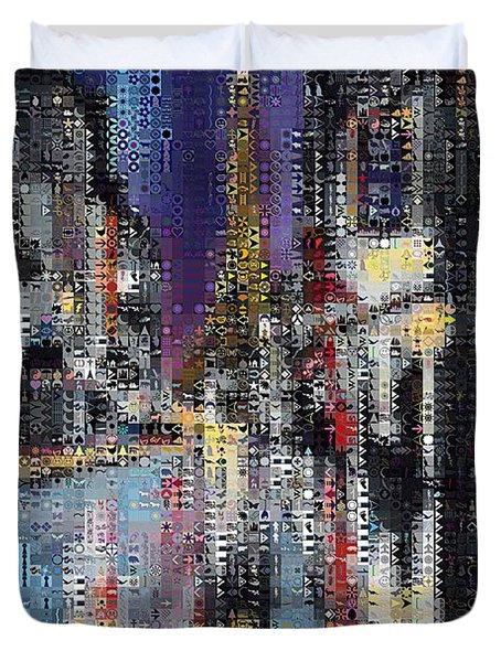 Heart Of Paris Duvet Cover by Dragica  Micki Fortuna